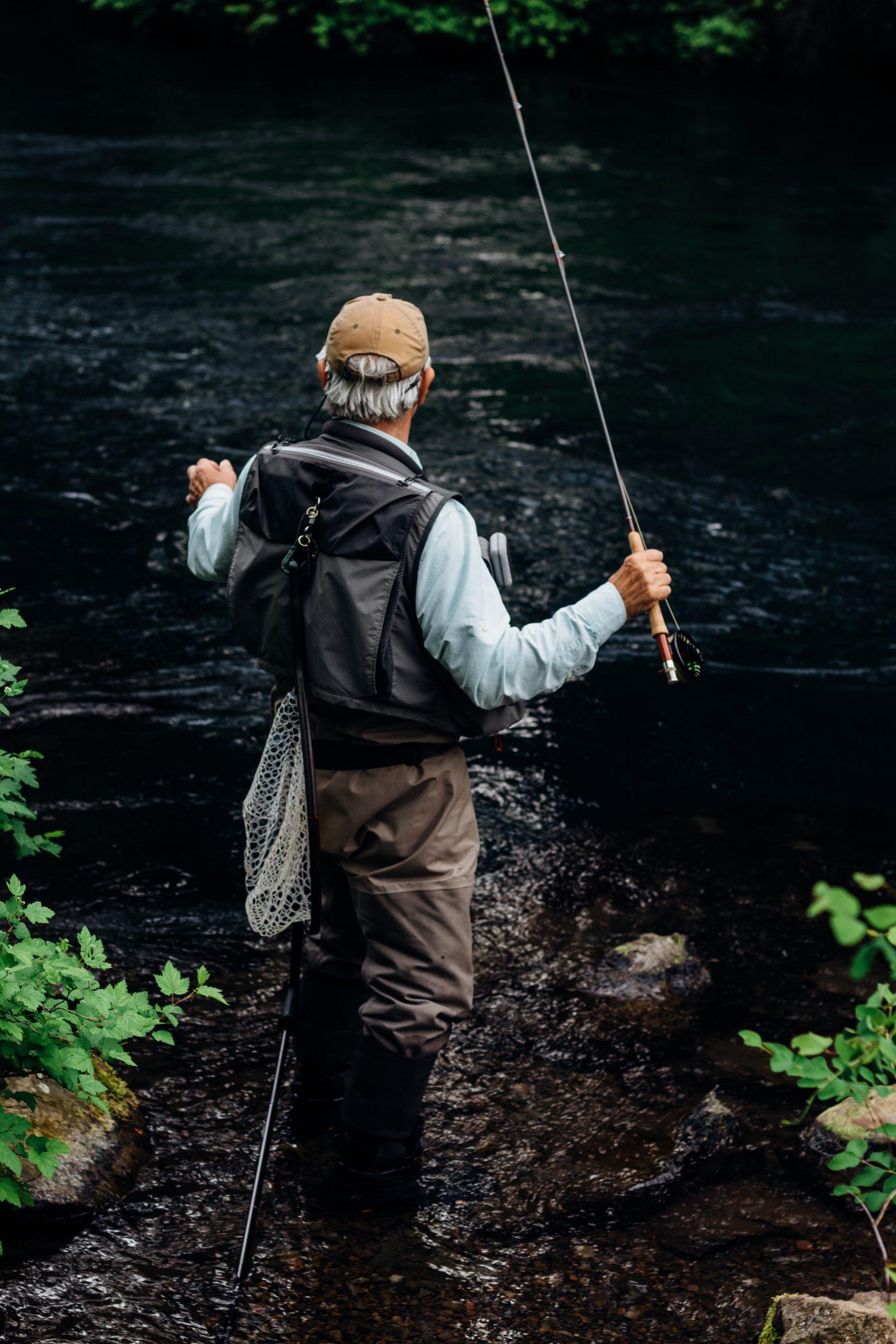 Materiaal voor vissen