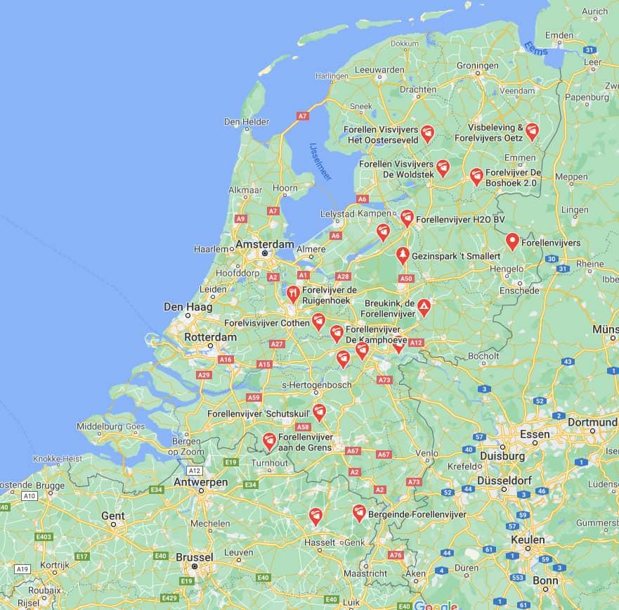 forelvissen in nederland